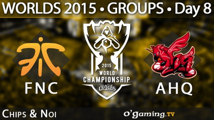 Fnatic vs ahq e-Sports Club - World Championship 2015 - Phase de groupes - 11/10/15 Game 6