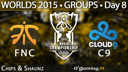 Fnatic vs Cloud9 - World Championship 2015 - Phase de groupes - 11/10/15 Game 2