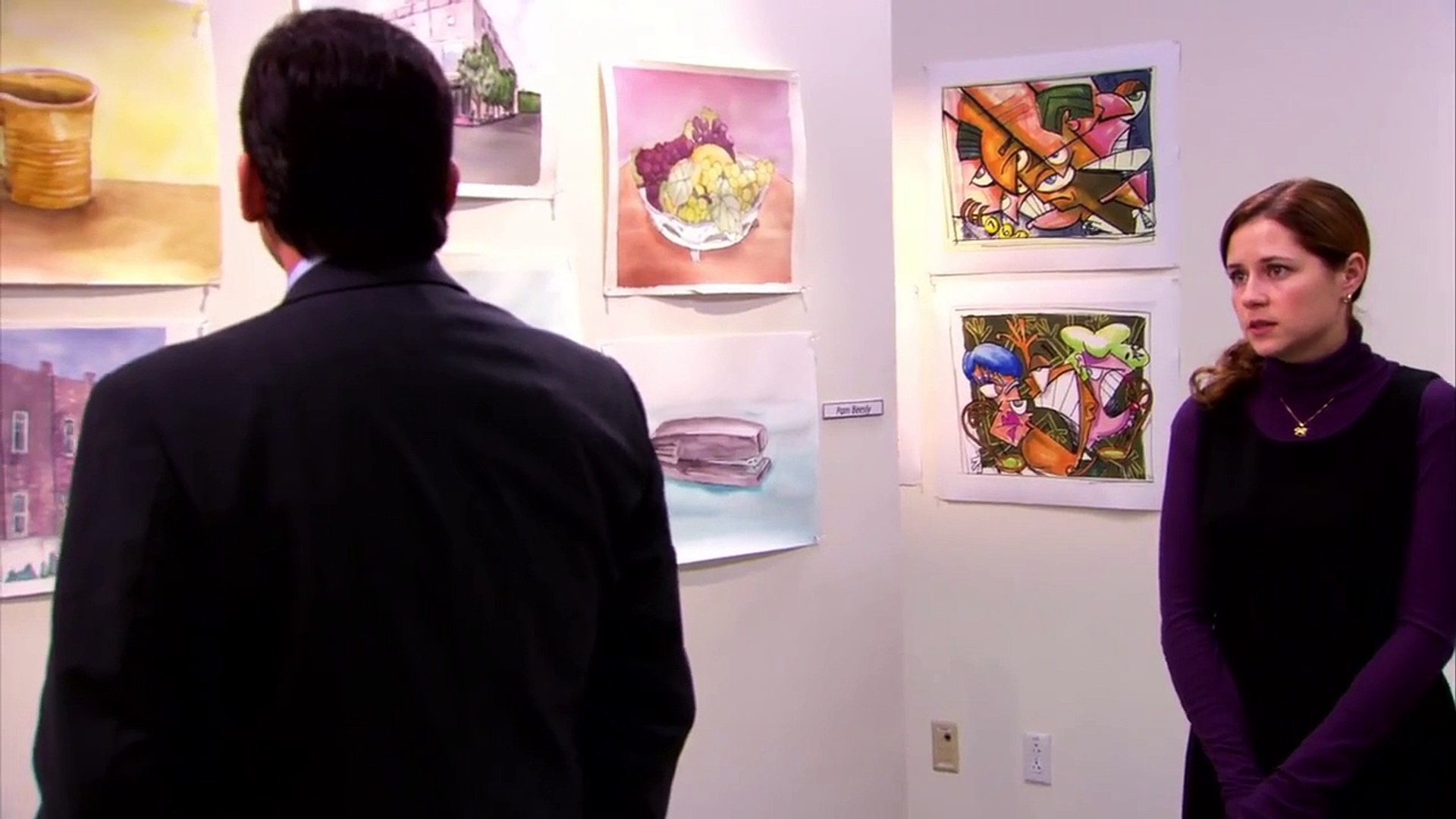 Pams Art Exhibition The Office Us