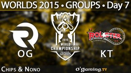 Origen vs KT Rolster - World Championship 2015 - Phase de groupes - 10/10/15 Game 5