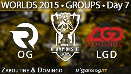 Origen vs LGD Gaming - World Championship 2015 - Phase de groupes - 10/10/15 Game 4