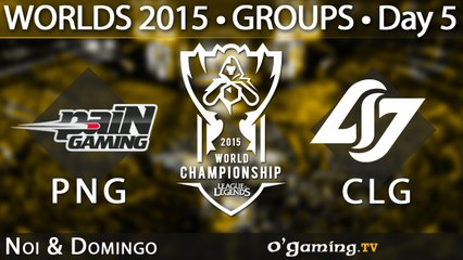 Pain Gaming vs Counter Logic Gaming - World Championship 2015 - Phase de groupes - 08/10/15 Game 6