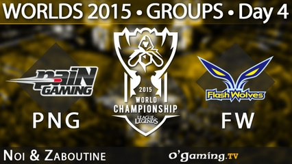 Pain Gaming vs Flash Wolves - World Championship 2015 - Phase de groupes - 04/10/15 Game 6