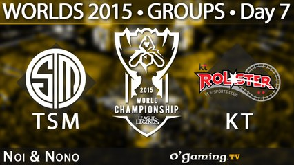 Team SoloMid vs KT Rolster - World Championship 2015 - Phase de groupes - 10/10/15 Game 3