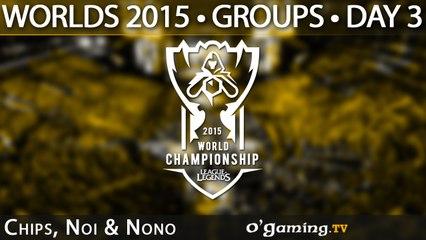 Preshow - World Championship 2015 - Phase de groupes - 03/10/15