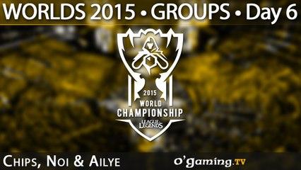 Preshow - World Championship 2015 - Phase de groupes - 09/10/15