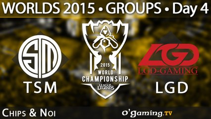 Team SoloMid vs LGD Gaming - World Championship 2015 - Phase de groupes - 04/10/15 Game 1