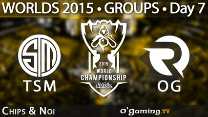 Team SoloMid vs Origen - World Championship 2015 - Phase de groupes - 10/10/15 Game 1