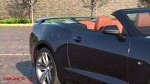 Chevy Camaro 2016 RS Convertible Roof In Action Chevrolet Camaro Sixth Generation Commerci