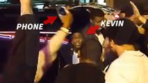 Kevin Hart and Crew in Strip Club Melee ... Phone breaks, Waitress Stiffed