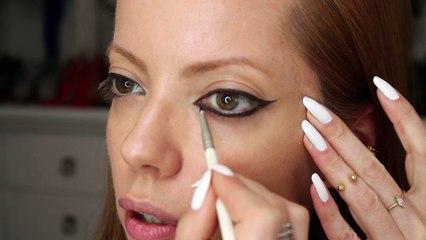 Julia Petit Passo a passo olhos tipo Taylor Swift no VMA - maquiagem