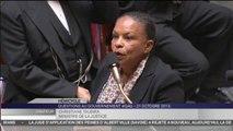 """""""Nous n'avons cessé d'augmenter le budget de l'aide juridictionnelle"""", se défend Christiane Taubira"""