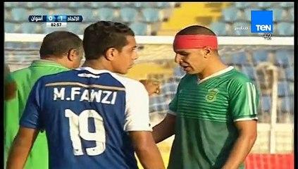 إصابة قوية لأحمد السيد أمام أسوان في الدوري المصري
