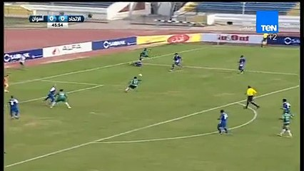 هدف مباراة ( الاتحاد السكندري - أسوان ) 1-0 الدوري المصري - موسم 2015-2016