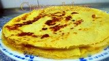 CREPES DULCES - recetas de cocina faciles y economicas y rapidas de hacer