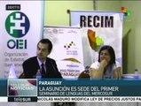 Paraguay acoge primer seminario de lengua y educación del Mercosur