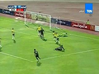 ضربة جزاء لـ بابا أركو لاعب الانتاج الحربي غير محتسبه في مباراة الإسماعيلي