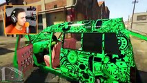 KWEBBELKOP-MOST PIMPED OUT CARS IN THE WORLD! (GTA 5 DLC Funny Moments)