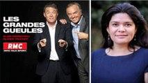 """Raquel Garrido invitée aux """"Grandes Gueules"""" sur RMC le 21/10/2015"""