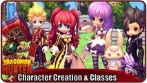 DRAGOMON HUNTER   Character Creation & Classes - 4 Klassen + Mitkämpfer [Anime MMORPG 2015]