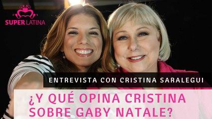 Entrevista a Cristina Saralegui,  5 de 5 / SuperLatina – Gaby Natale