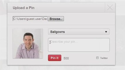How To Add Image On Pinterest