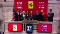 Entrée spectaculaire de Ferrari à la Bourse de Wall Street