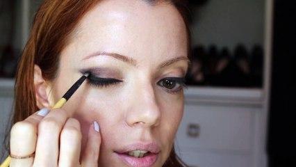 Julia Petit Passo a Passo tentando Amber Heard - Maquiagem