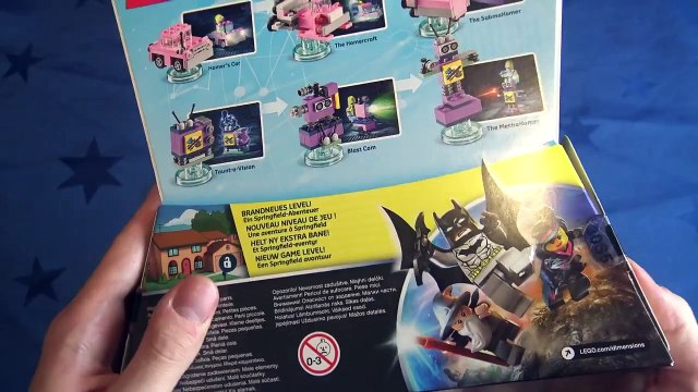 LEGO Dimensions Level Pack: The Simpsons - Homer, Homers Car & Television Unboxing