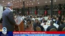 """Başkan Aydın: """"Simurg benim için önemli bir vizyon"""""""