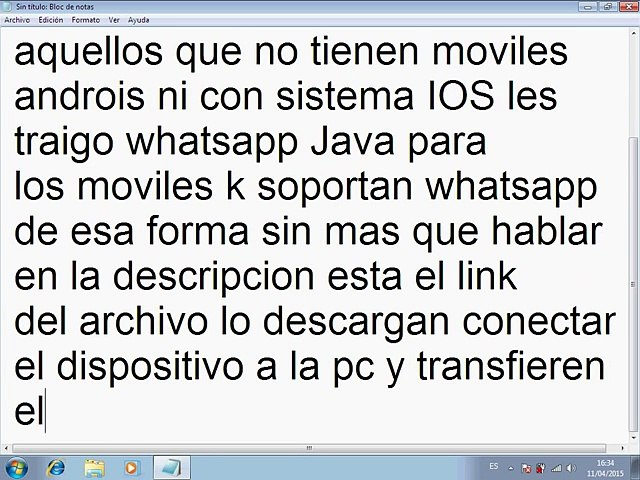 Descarga WhatsApp Para Teléfonos Java  Jar (Nokia-Motorola Etc)