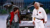 Marty McFly et Doc Brown dans Retour Vers le Futur 4 (sketch)