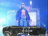 WWF Vengeance 2001 - William Regal vs Edge ( WWF Intercontinental championship match)