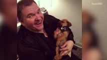 Meat Loaf would do anything for the love of a puppy