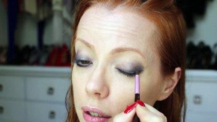 Julia Petit Passo a passo do Esquenta - maquiagem