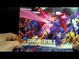 Unboxing: 1/144 HGBF Gundam Tryon 3