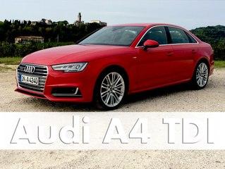 Im Test: Audi A4 sport 3.0 TDI quattro Modell 2016