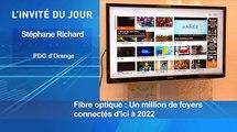 L'invité d'actu : Stéphane Richard, PDG d'Orange