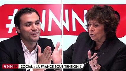 """Michèle Cotta : """"le dialogue avec les syndicats est nécessaire"""""""