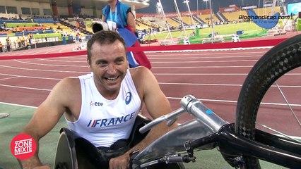 Pierre Fairbank 100m T53 - Médaille de bronze