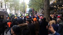 Mounted Police at Sikh protest in London