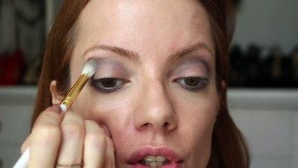 Julia Petit passo a passo Trança Frouxa - maquiagem