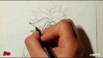 Speed Drawing Broly SSj (HD) ブロリー SSj