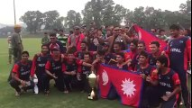 nepal cricket team beat ireland in final and qualify for under19  world cup