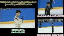Yuzuru Hanyu - Skate Canada Autumn Classic, Seimei Competition vs Practice