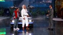 Les héros de Retour vers le futur chez Jimmy Kimmel