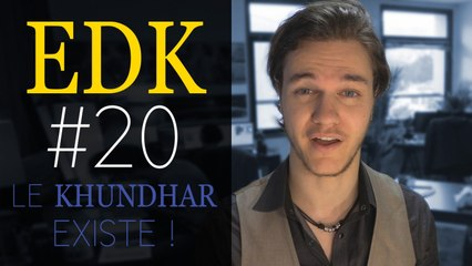 EDK #20 : Naissance du Khundhar, locaux pro, Video City, démo jouable, recrutement