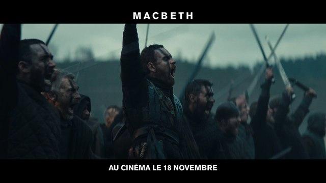 MACBETH BANDE ANNONCE VOSTF
