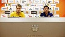 FCB Basket: Rueda de prensa de Xavi Pascual i Vezenkov en la previa del FC Barcelona Lassa - Stelmet Zielona Gora [ESP]