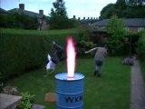 Dangereux le feu!